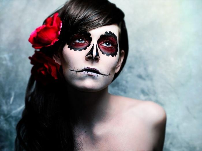 ideas para halloween maquillaje conceptos accesorios