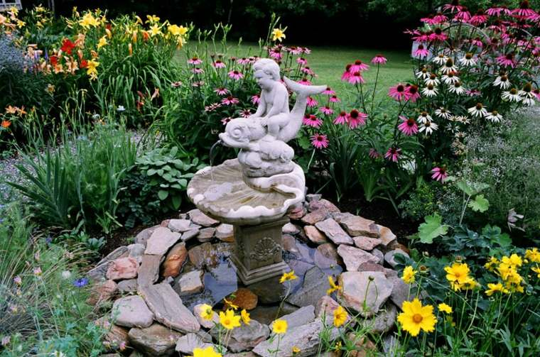ideas para jardines rsticos