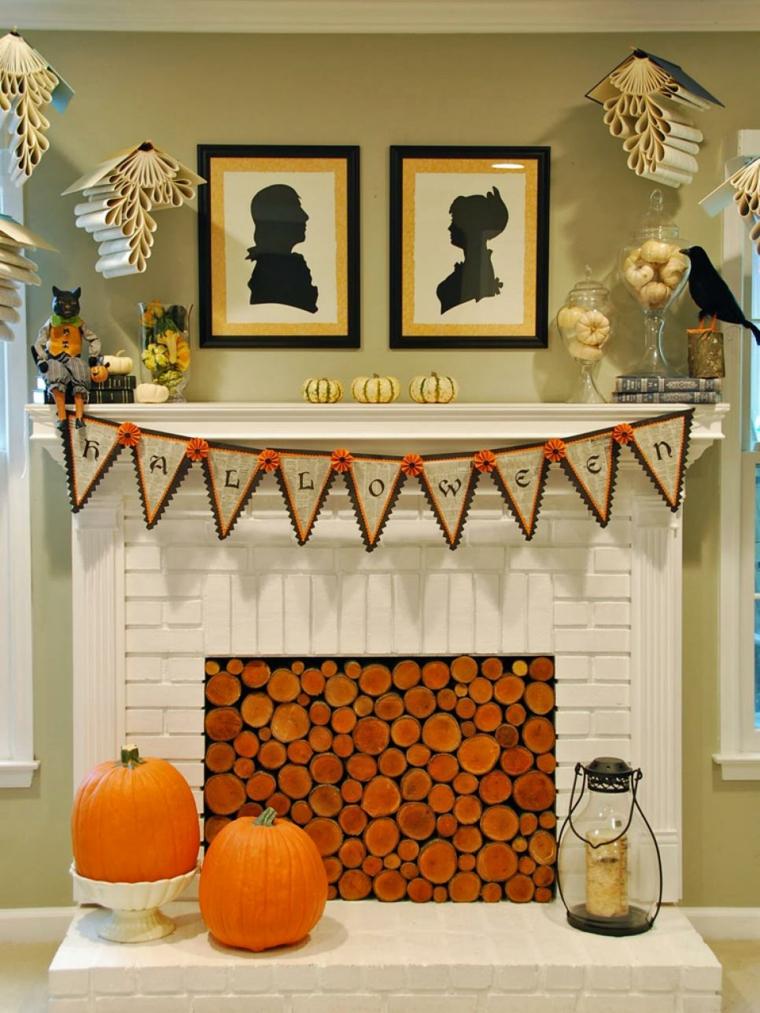 interior moderno decoraciones otoño