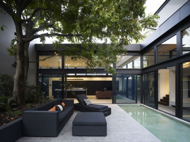 jardin diseno contemporaneo Steve Domoney Architecture ideas