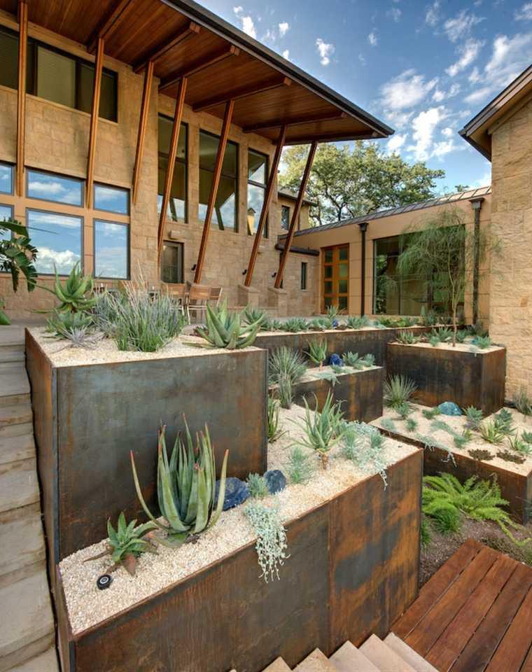 jardin moderno paisaje xeriscape