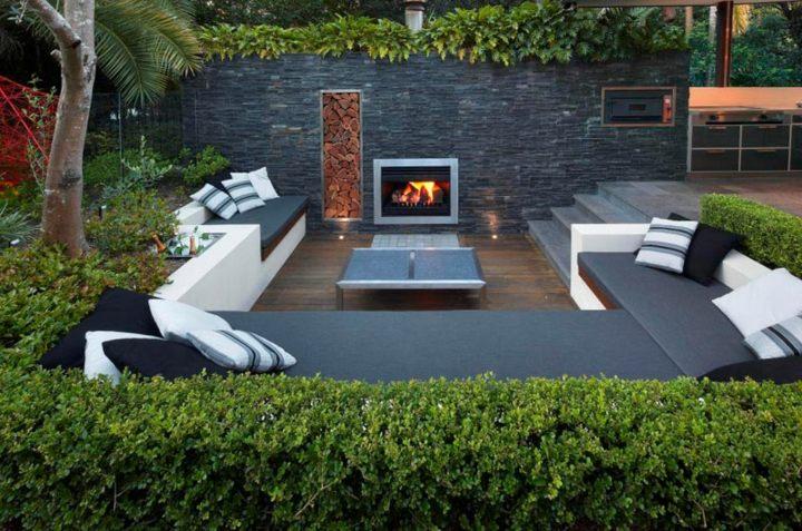 jardines fuego conceptos colores colores