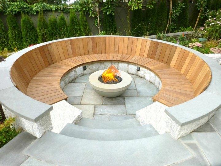 jardines fuego especiales conceptos respaldo