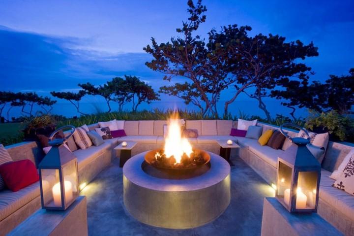 jardines fuego imagenes estilos lamparas
