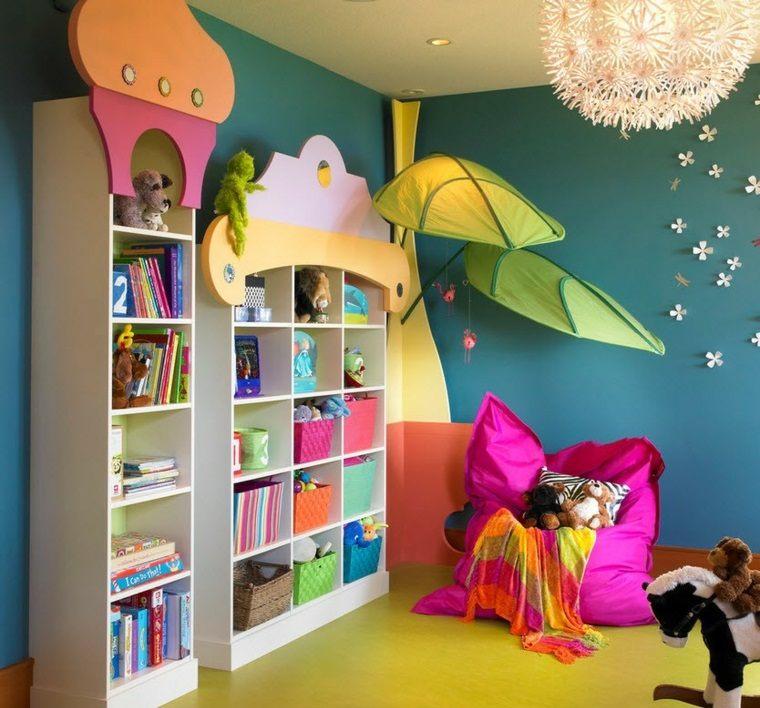 Juegos diarios en la habitaci n infantil dise ada por ti - Colores habitacion nino ...