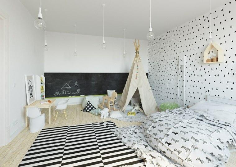juegos diarios cuarto nino opciones diseno dormitorio blanco ideas