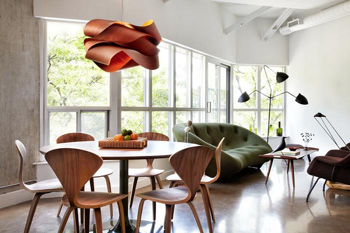 La madera en el diseño de lámparas colgantes increíbles