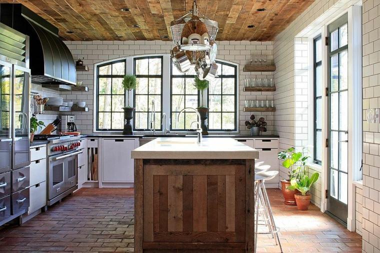 madera diseno cocina Burns and Beyerl Architects ideas