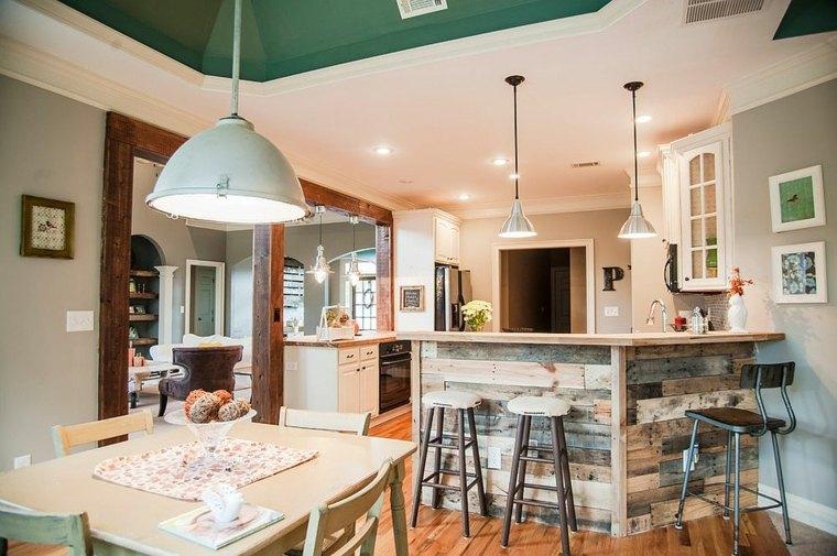 la madera diseno cocina caracter unico Ashley Anthony Studio ideas