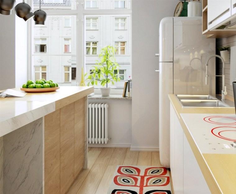la madera diseno cocina decoracion escandinava ideas