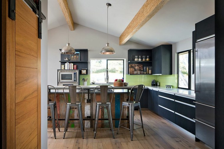 madera diseno cocina madera reciclada cocina diseno KW Designs ideas