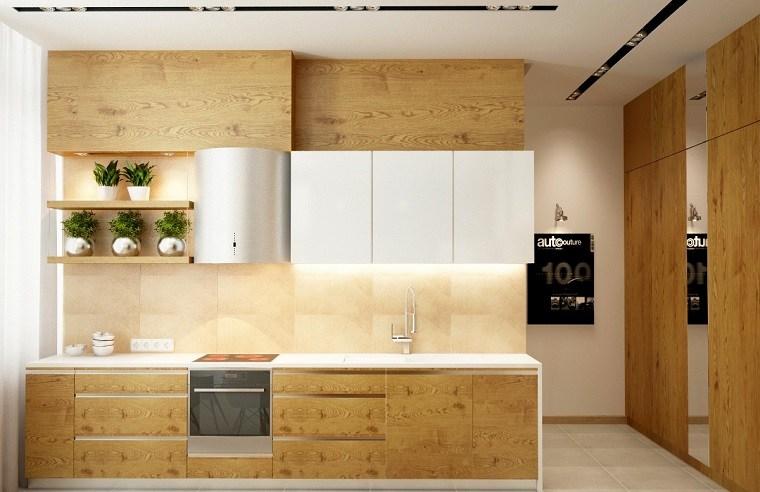 La madera y cómo usarla para decorar la cocina