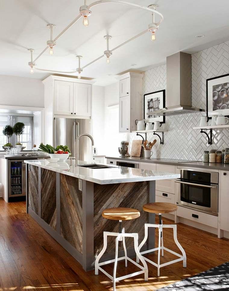 madera diseno cocina nueva vida vieja madera Sarah Richardson Design ideas