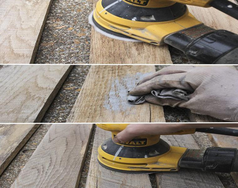lijar madera palet lijadora