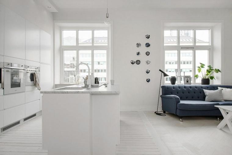 loft diseno escandinavo decorar casa espacio disenado