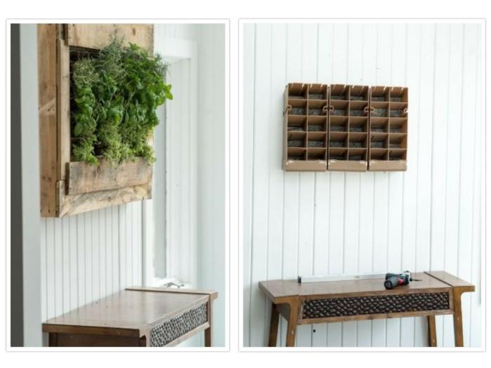 madera cajones recuperados cocina diy