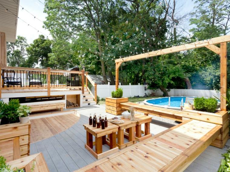 madera clara especiales fuentes muebles