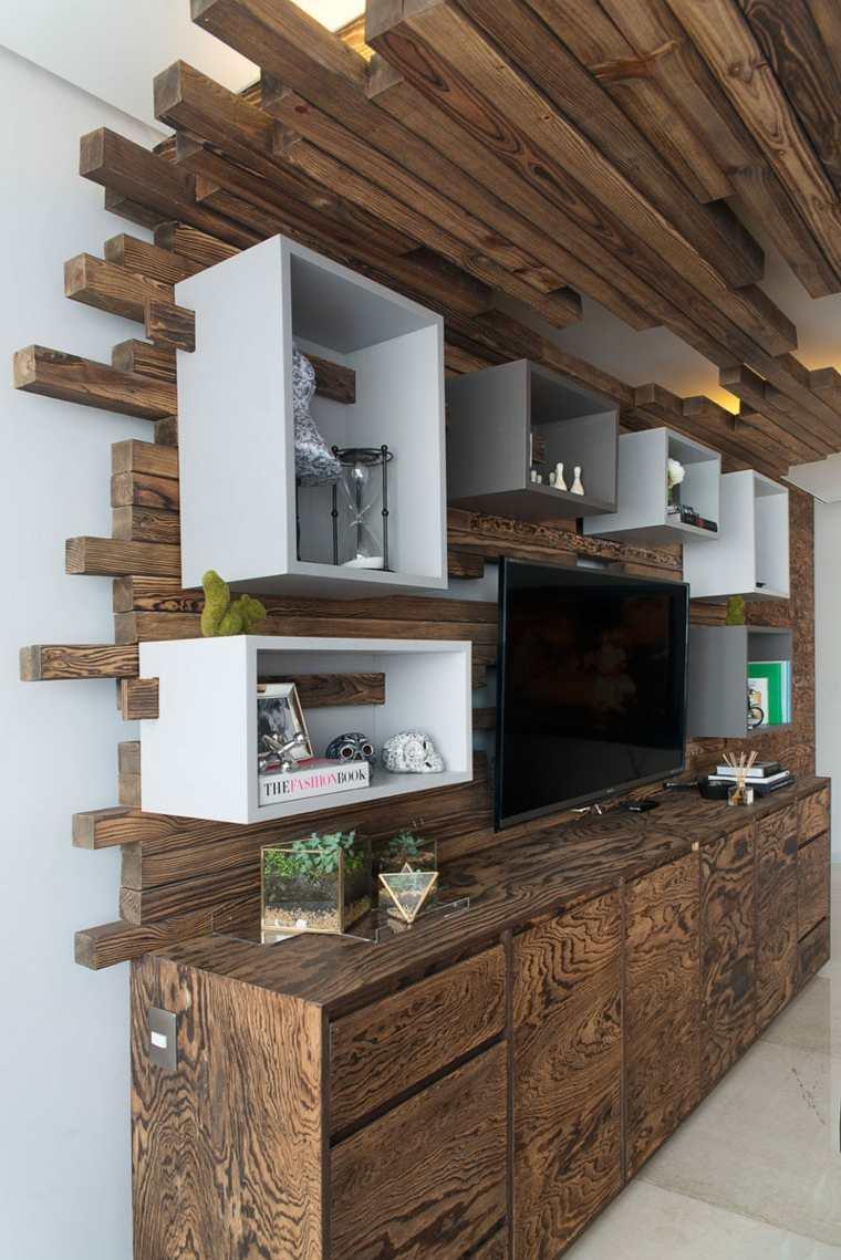 madera para techos originales