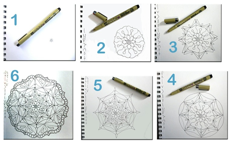 Cómo pintar mandala muy fácil en casa -