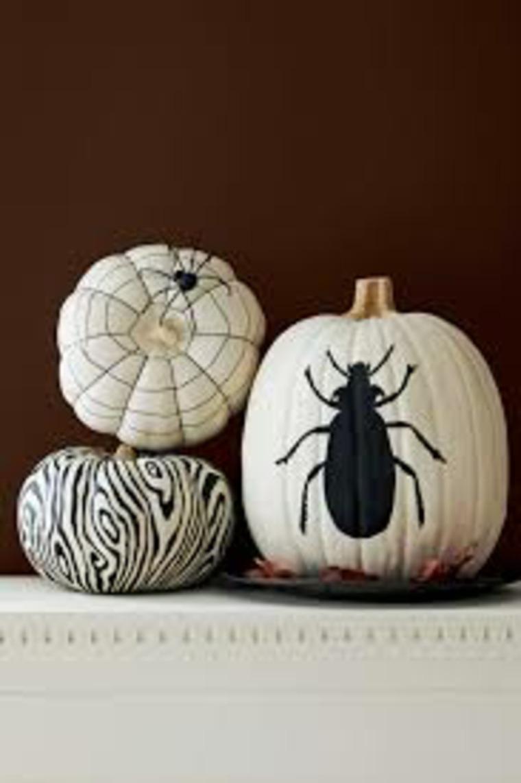 manualidades de halloween calabaza araña