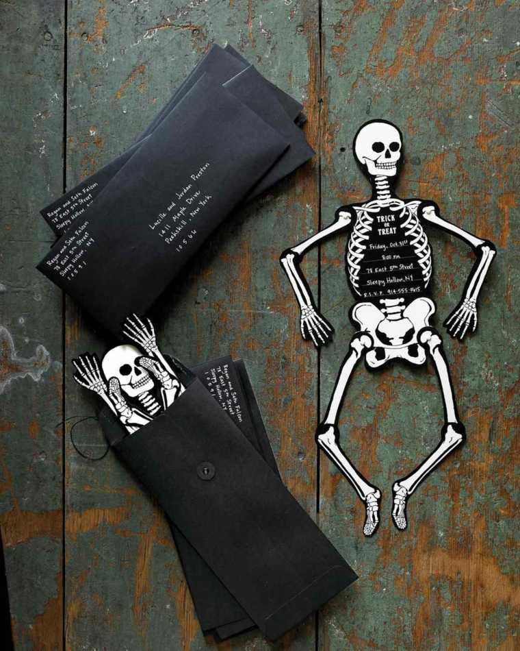 manualidades de halloween invitaciones