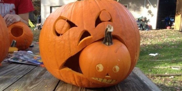 manualidades para halloween calabaza