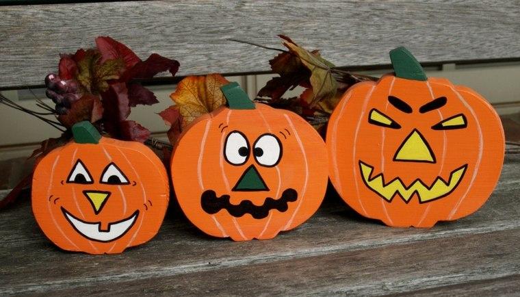 manualidades para halloween calabazas goma
