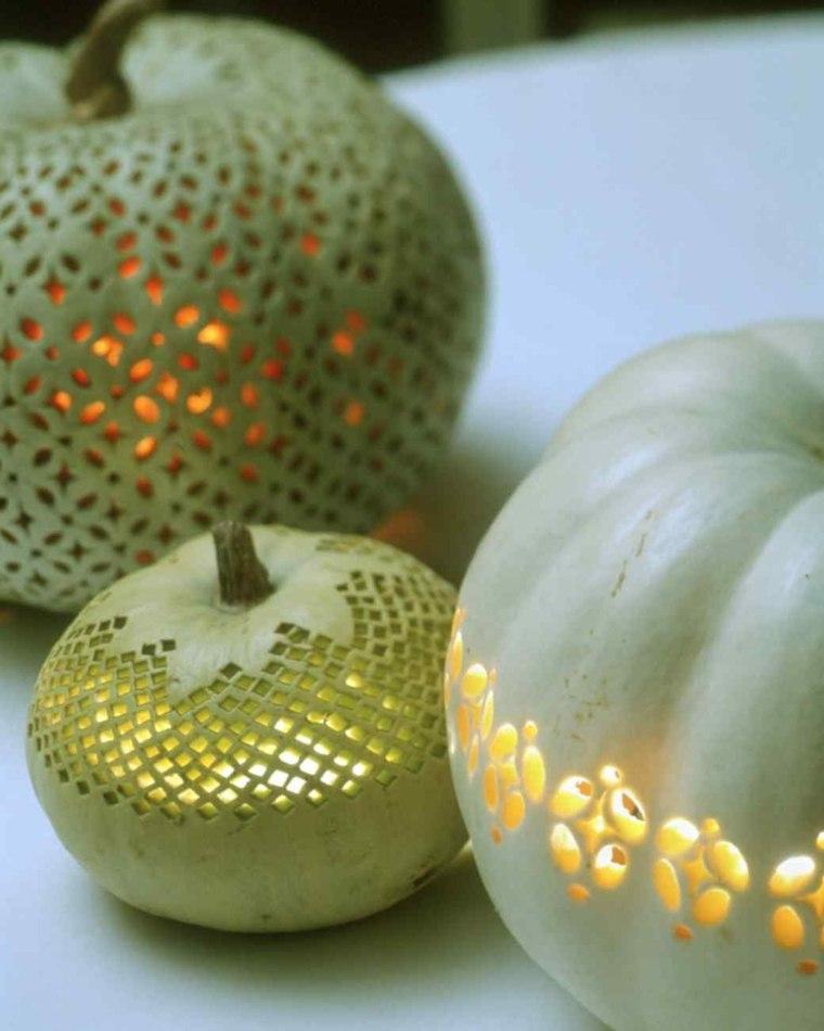 manualidades para halloween calabazas verdes