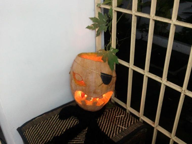 manualidades para halloween luz