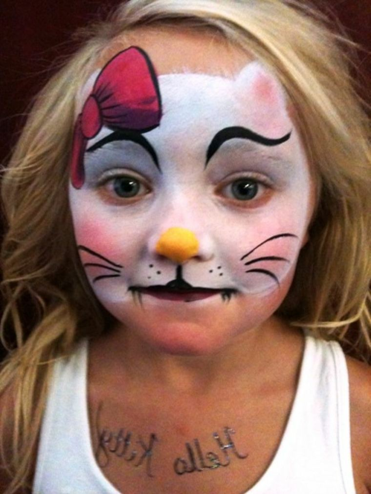 maquillaje de bruja animal