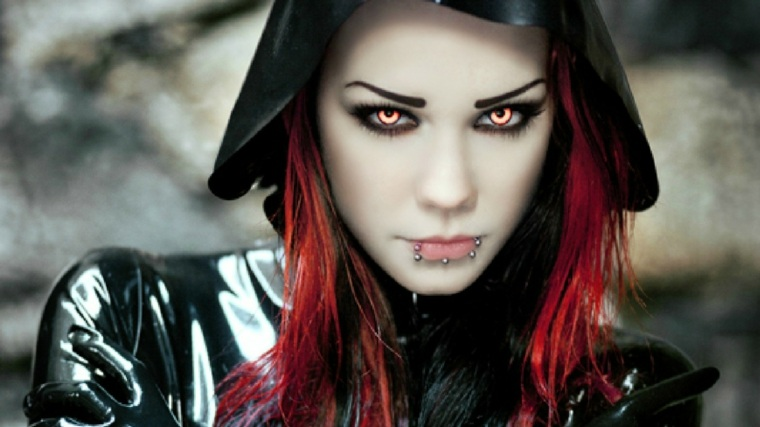 maquillaje de bruja guapa espeluznante