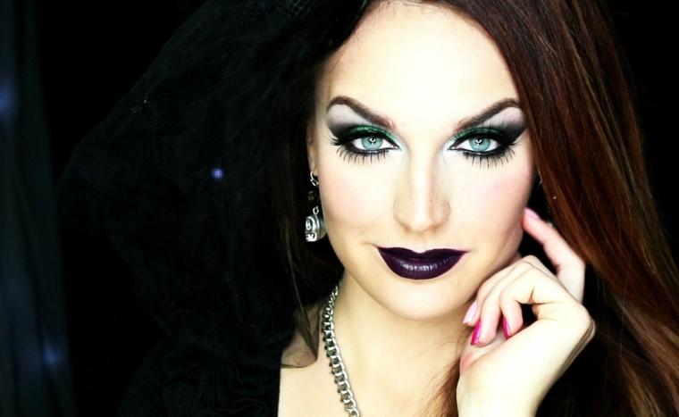 maquillaje de bruja guapa