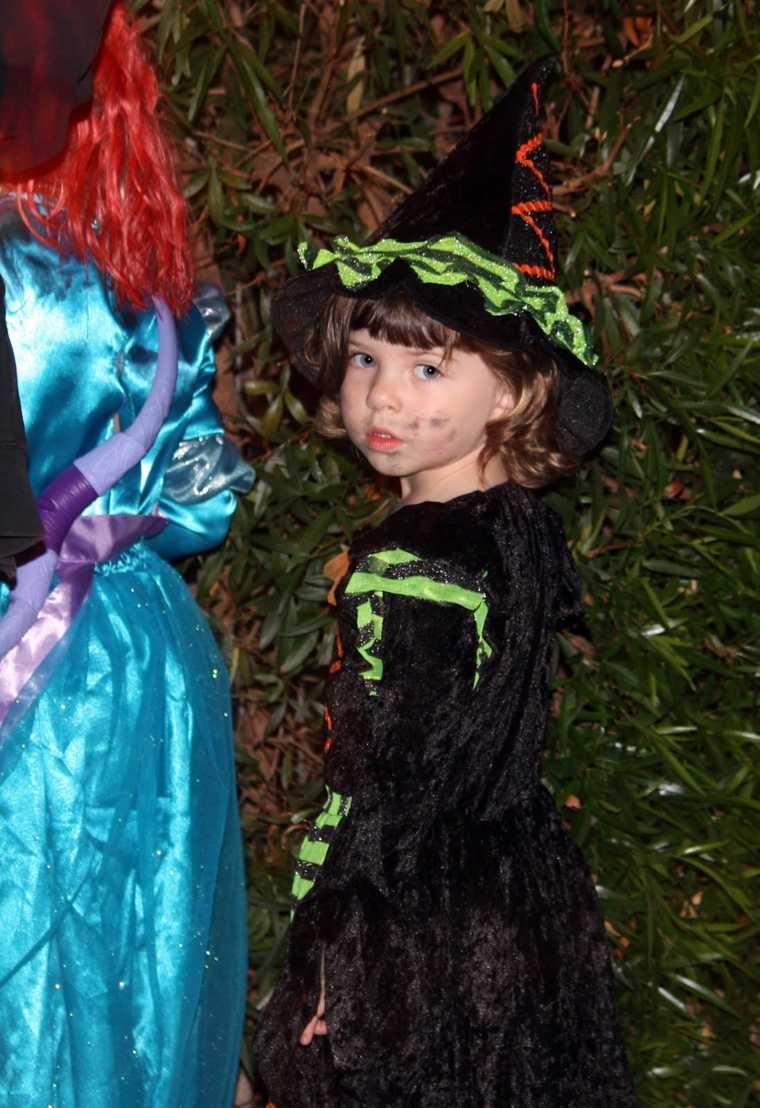 maquillaje de bruja niños