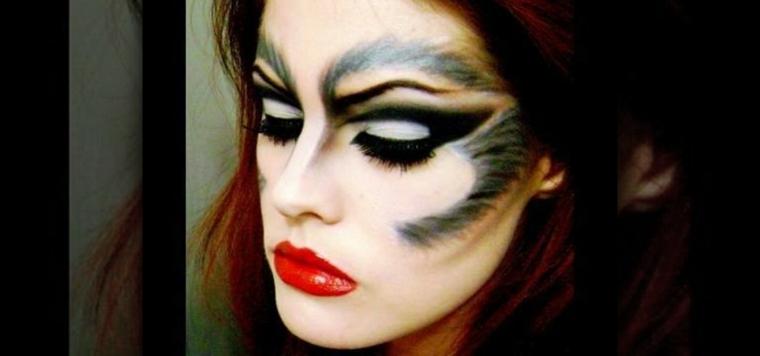 maquillaje de diablesa para mujer halloween