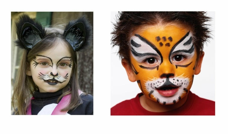 Maquillaje de halloween para ni os - Pintura cara halloween ...