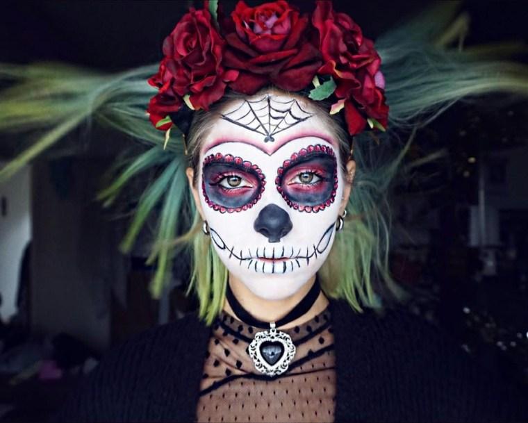 maquillaje de halloween para mujer