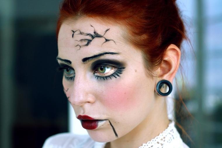 maquillaje de halloween para mujer hombre