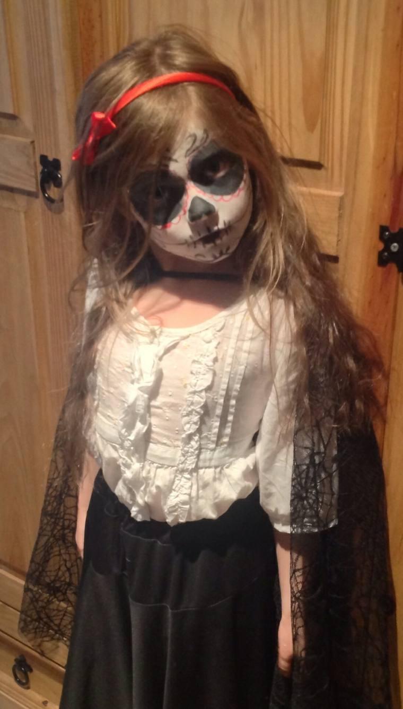 maquillaje de halloween para niños disfraz