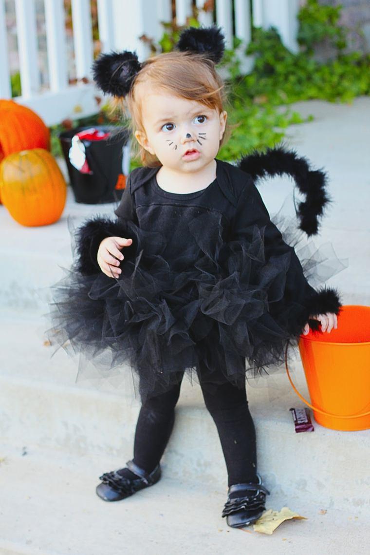 maquillaje de halloween para niños pequeños