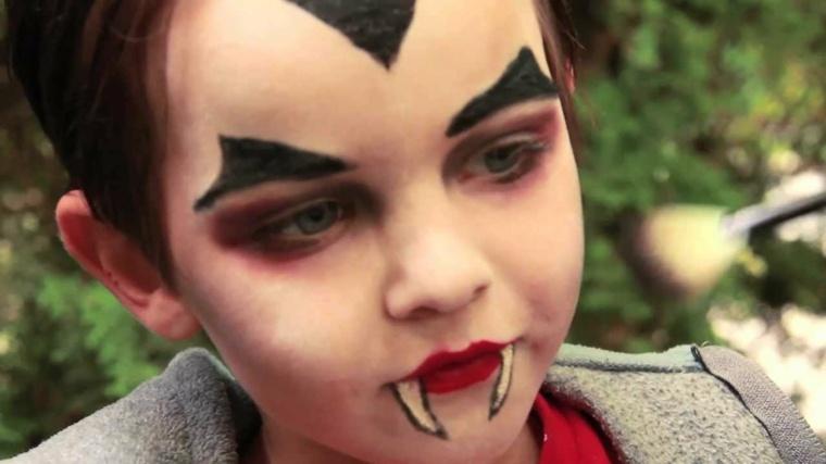 Maquillaje De Halloween Para Ninos