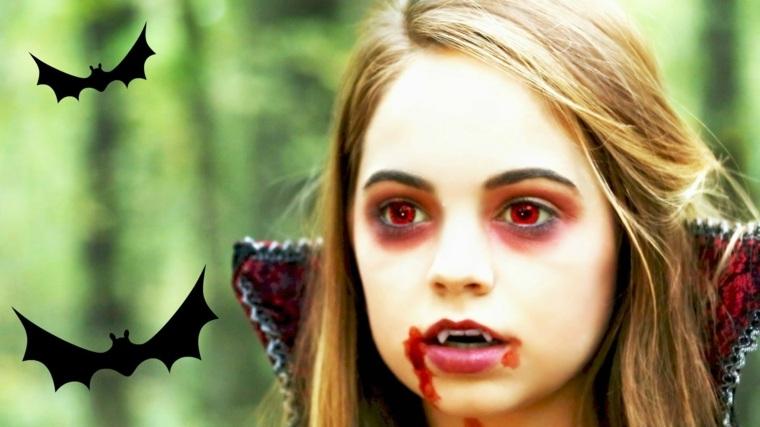 maquillaje de halloween para niños
