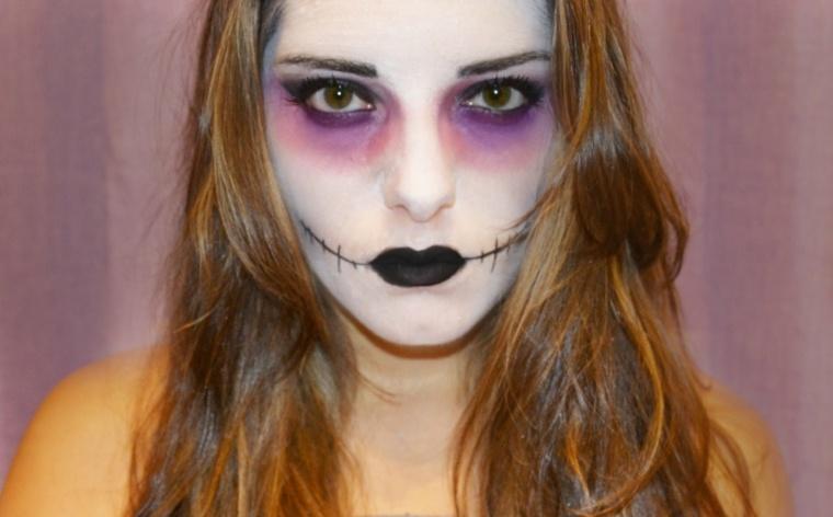 maquillaje de halloween paso a paso
