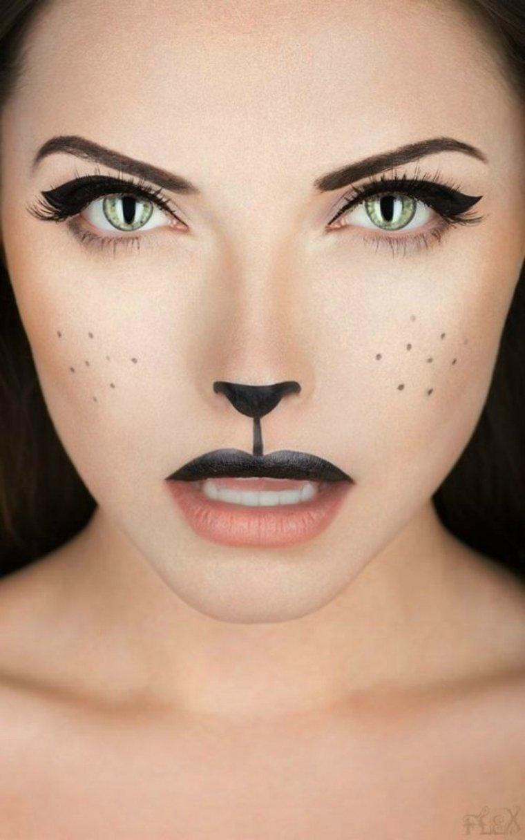 maquillaje halloween paso paso