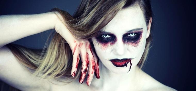 maquillaje halloween vampiresa