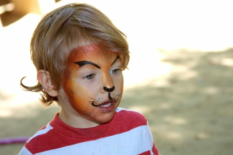 maquillaje infantil de halloween