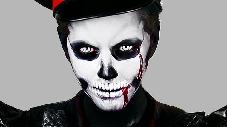 maquillaje para halloween hombre
