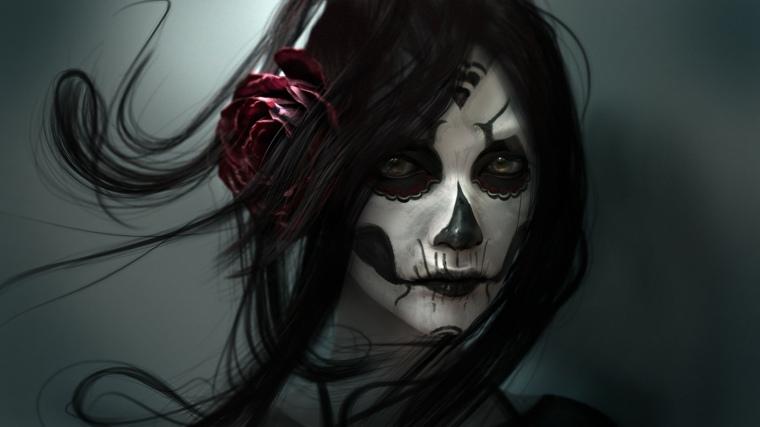 maquillaje para halloween inspirado