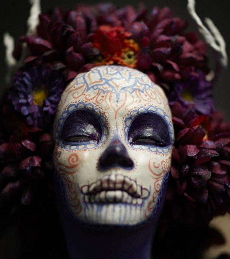 maquillaje para halloween para hombre muerto