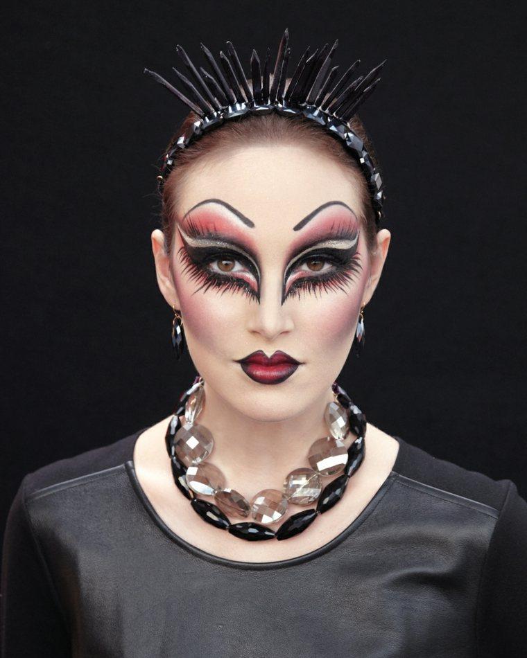 maquillaje para halloween para mujer original