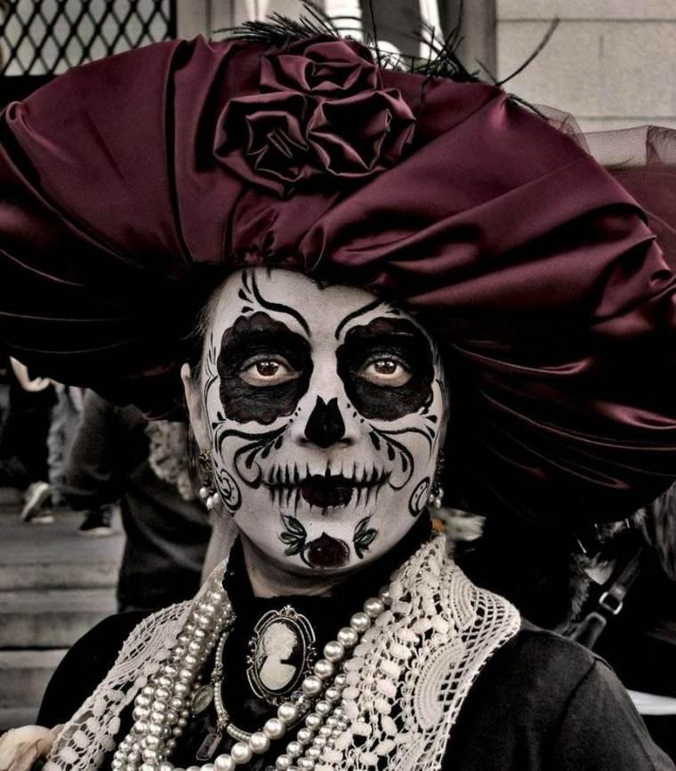 maquillaje para hombre halloween